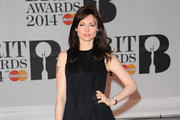Sophie Ellis-Bextor Metallic Clutch