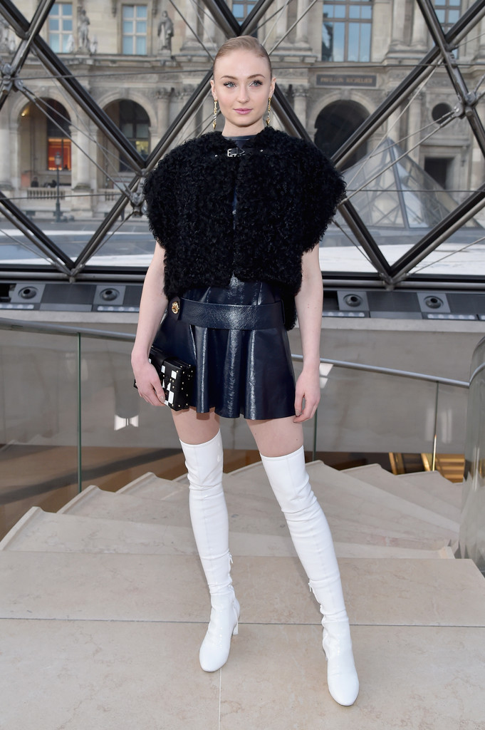 Sophie Turner Over The Knee Boots Over The Knee Boots