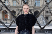 Sophie Turner Studded Clutch