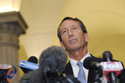 South Carolina Gov. Mark Sanford speaks during a press conference at the State Capitol June 24, 2009 in Columbia, South Carolina. Sanford admitted to having an extramarital affair after returning from a secret trip to visit a woman in Argentina and said that he would resign as head of the Republican Governors Association.