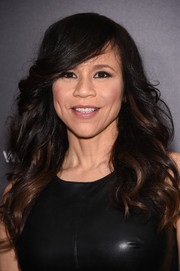 Rosie Perez was flawlessly coiffed with this long wavy 'do at the New York premiere of 'Southpaw.'