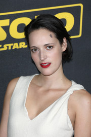 Phoebe Waller-Bridge wore her hair in a simple short bob at the special BFI screening of 'Solo: A Star Wars Story.'