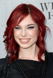 Chloe Dykstra sported edgy-chic spiral waves during Spike TV's Guys Choice 2014.