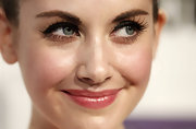 Alison Brie looked like Betty Boop with her long, curled eyelashes during Spike TV's Scream 2010.