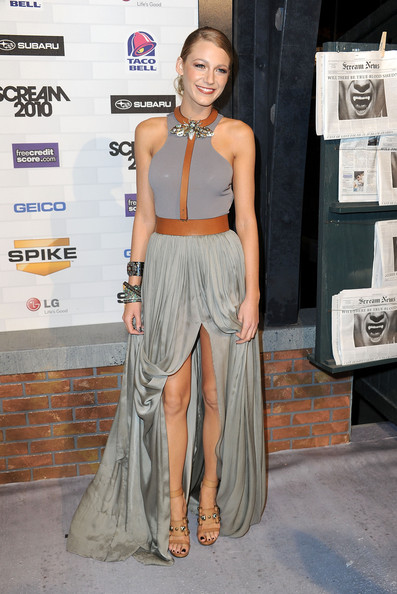 Blake Lively - Best and Worst Dressed at Spike TV's Scream ... блейк лайвли