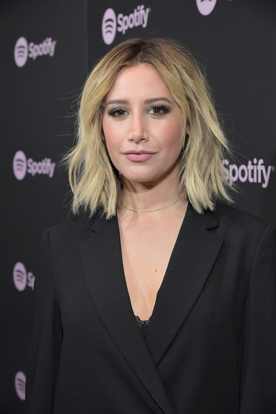 More Pics of Ashley Tisdale Satin Wristlet (1 of 7) - Ashley Tisdale Lookbook - StyleBistro [best new artist 2019,hair,hairstyle,blond,premiere,long hair,layered hair,brown hair,little black dress,eyelash,spotify,ashley tisdale,california,los angeles,hammer museum,red carpet,event]