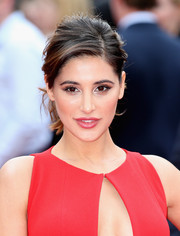 Nargis Fakhri was sexily coiffed with this messy-glam ponytail at the UK premiere of 'Spy.'