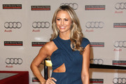 Stacy Keibler Rocks a Cutout Dress