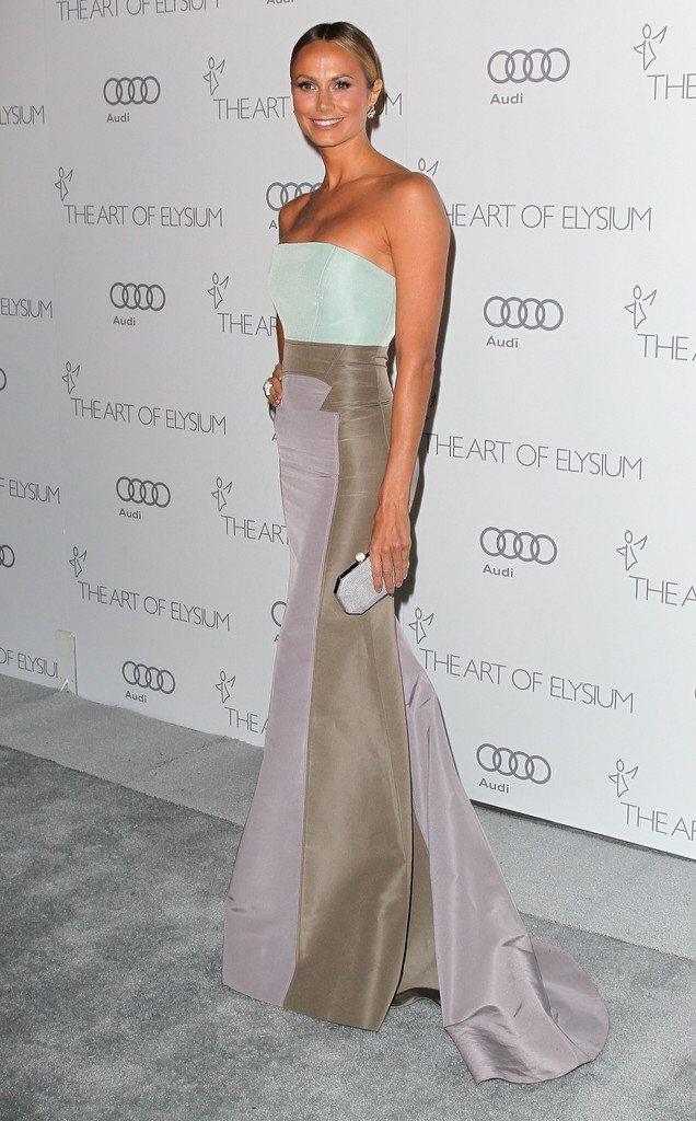 Stacy Keibler Mermaid Gown Stacy Keibler Looks Stylebistro