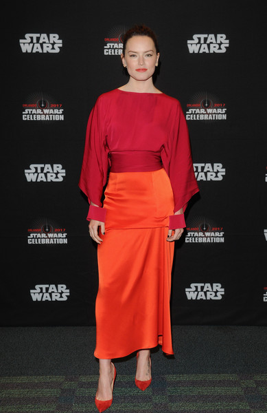 Look of the Day: April 17th, Daisy Ridley