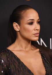 Dania Ramirez attended the 'Once Upon a Time' series finale screening wearing her hair in a tight ponytail.