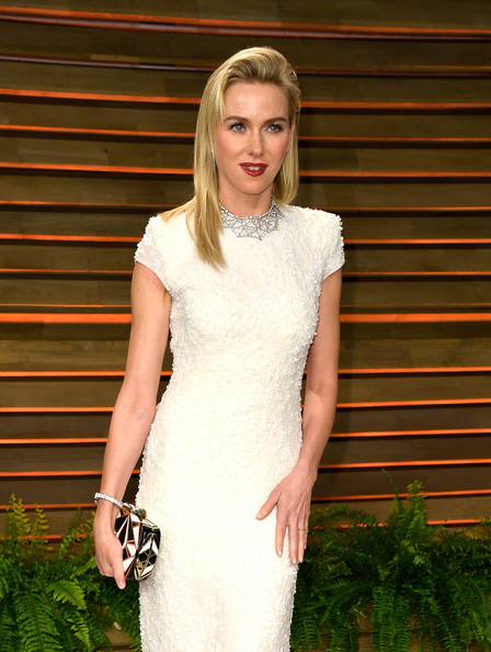 More Pics of Naomi Watts Long Straight Cut (4 of 6) - Naomi Watts Lookbook - StyleBistro