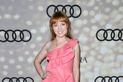 Stef Dawson One Shoulder Dress