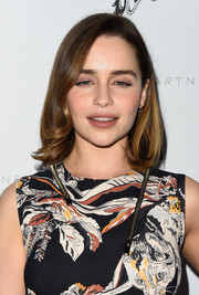 Emilia Clarke went classic with this mid-length bob for the Stella McCartney presentation.
