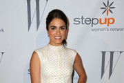 Nikki Reed Shines in David Yurman Silver Bracelet