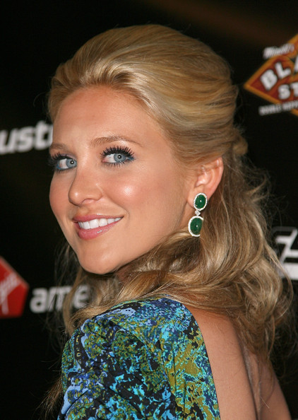 Stephanie Pratt Dangling Gemstone Earrings