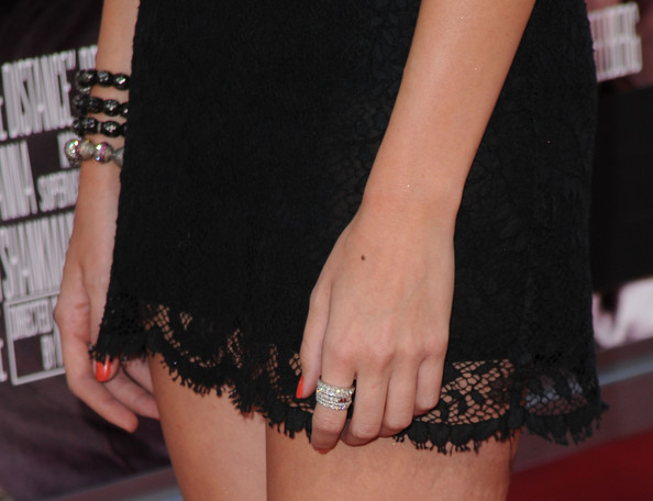 Stephanie Pratt Diamond Ring