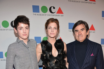 "Stephanie Seymour Peter Brant ""Yesssss!"" 2013 MOCA Gala, Celebrating The Opening Of The Exhibition Urs Fischer - Red Carpet"