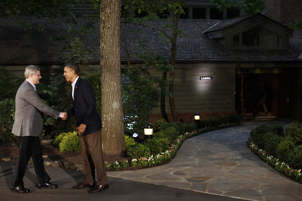Obama Attends G8 Summit At Camp David