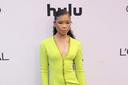 Storm Reid Form-Fitting Dress