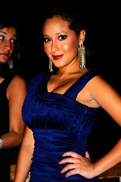 More Pics Of Adrienne Bailon Gold Dangle Earrings 5 Lookbook Stylebistro