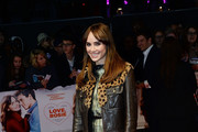 Suki Waterhouse Leather Jacket