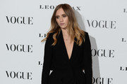 Suki Waterhouse Skirt Suit