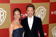 Susan Downey Satin Clutch