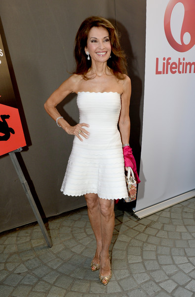 Susan Lucci Studded Heels