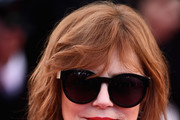 Susan Sarandon Medium Wavy Cut with Bangs