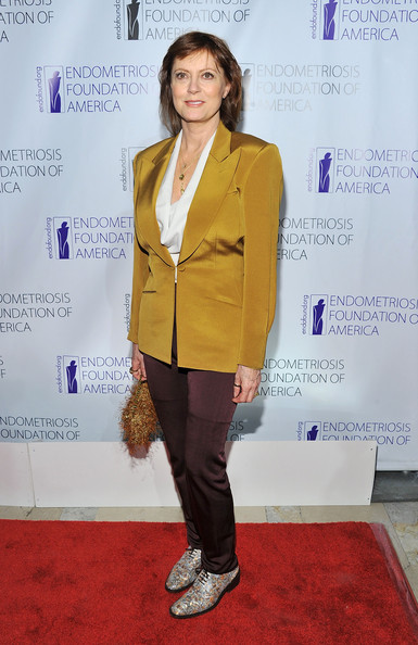 Susan Sarandon Silk Pants