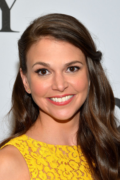 Sutton Foster Half Up Half Down