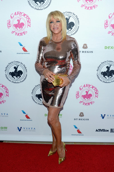 Suzanne Somers Sequin Dress