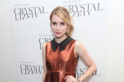 Emma Roberts attends the Brazilian Style celebration at the Swarovski Crystallized Concept Store on October 18, 2011 in New York City.