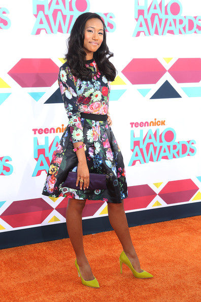 Sydney Park Knee Length Skirt [halo awards,red carpet,clothing,carpet,fashion,flooring,fashion design,footwear,dress,leg,premiere,arrivals,actress,hollywood palladium,sydney park,california]