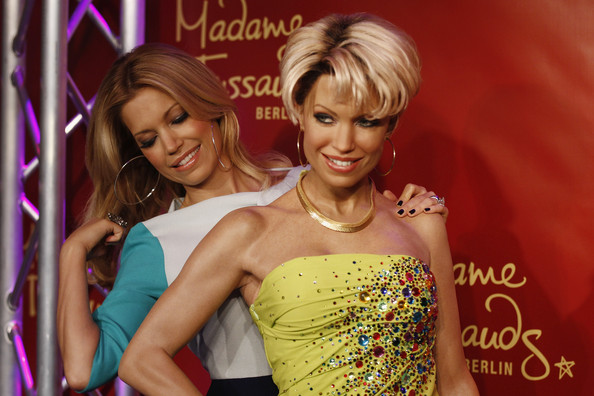 More Pics of Sylvie van der Vaart Pumps (1 of 22) - Sylvie van der Vaart Lookbook - StyleBistro [hair,hairstyle,beauty,blond,fashion,event,model,fun,hair coloring,style,wax figure unveiling,sylvie van der vaart,wax figure,berlin,germany,madame tussauds,unveiling]
