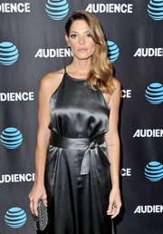 Ashley Greene accessorized with the celeb-favorite Bottega Veneta Knot clutch when she attended the AT&T Audience Network TCA event.