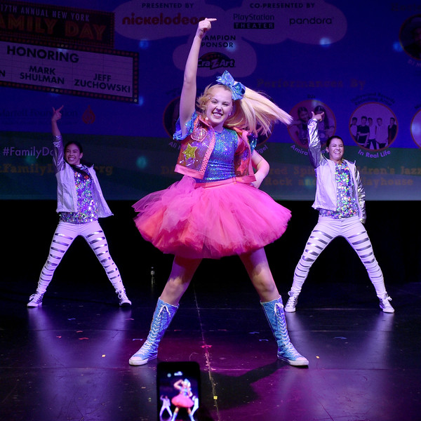 More Pics of JoJo Siwa Basketball Sneakers (1 of 19) - Athletic Shoes Lookbook - StyleBistro [performance,entertainment,performing arts,dancer,dance,stage,performance art,choreography,event,musical theatre,jojo siwa,t.j.,new york city,playstation theater,martell foundation,new york family day]