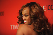 Tyra showed the world how to smile with her eyes at the Time 100 Gala.