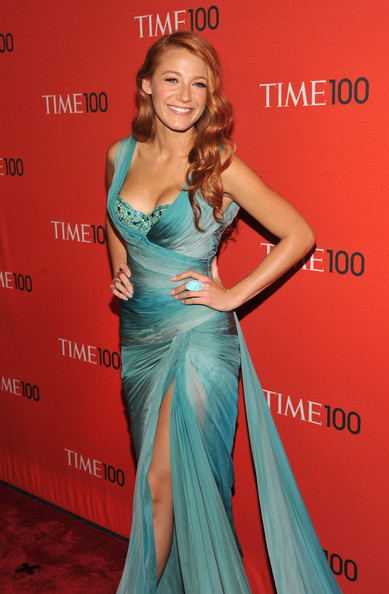 More Pics of Blake Lively Evening Dress (1 of 9)