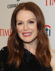 Julianne Moore looked lovely with her gently wavy hairstyle at the Time 100 Gala.