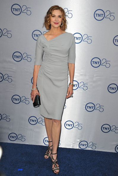 More Pics of Brenda Strong Red Lipstick (1 of 8) - Brenda Strong Lookbook - StyleBistro [clothing,dress,shoulder,cocktail dress,fashion model,joint,fashion,hairstyle,footwear,arm,anniversary party - arrivals,brenda strong,25th anniversary partyat the beverly hilton hotel,beverly hills,california,tnt]