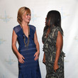 Tracy Reese and Julia Stiles