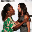 Tracy Reese and Odette Annable