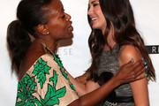 Tracy Reese and Odette Annable Photo