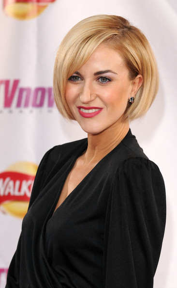 Katherine Kelly S Perfect Blunt Bob Modern Celebrity