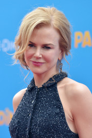 Nicole Kidman styled her hair into a loose side chignon for the premiere of 'Paddington.'