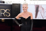 Tabatha Coffey Strapless Dress