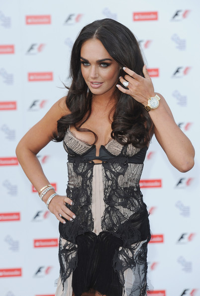 Tamara Ecclestone Gold Chronograph Watch