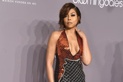 Taraji P. Henson Halter Dress